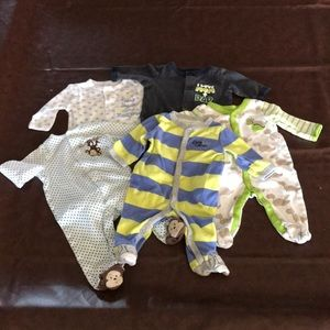 Other - 3 month footy pj lot